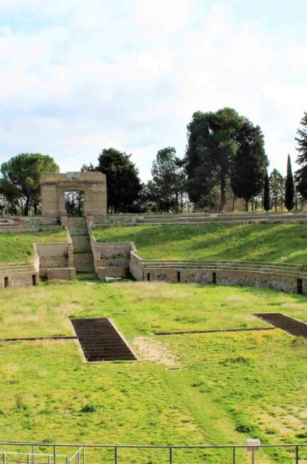 anfiteatro romano di Lucera