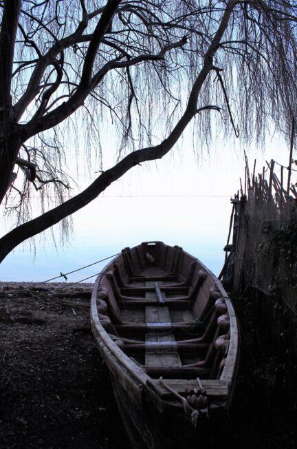 rimesse nel villaggio dei pescatori di varano