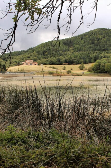 escursione al lago pescara biccari